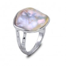 Imperial Pearl Sterling Silver Freshwater Pearl Ring