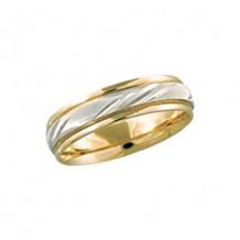Camelot 14k White Gold Engraved Dame Wedding Band
