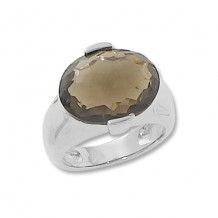 Carla Sterling Silver Smokey Quartz