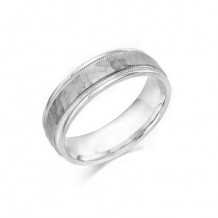 Camelot Sterling Silver & 10k White Gold Julian Wedding Band