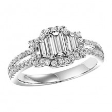 14k White Gold 2ct Diamond Engagement Ring