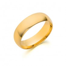 Camelot 10k Yellow Gold Standard - Light CF Wedding Band