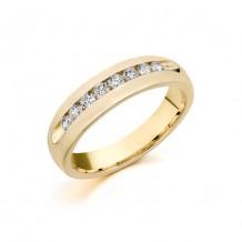 Camelot 14k White Gold Belcanto Wedding Band