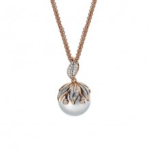 Imperial Pearl 14k Rose Gold Freshwater Pearl Pendant