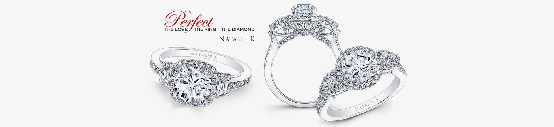 zoom by product to pave engagement trio diamonds hover natalie pav rings round cut diamond ring micro k